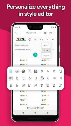 Stylish Text screenshot 5