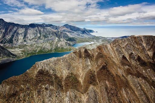 Labrador-Torngats-Mountains-peak-closeup.jpg - The stark beauty of the Torngats Mountains at the northern tip of Newfoundland and Labrador.