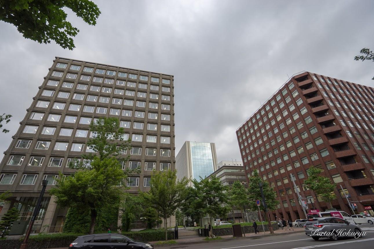ホテルポールスター札幌真向かいの北海道庁