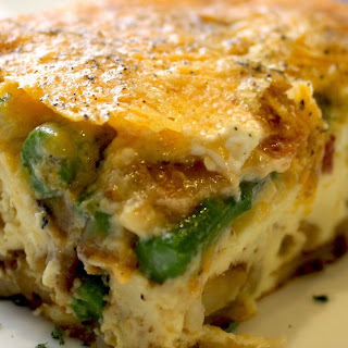 Asparagus, Bacon & Potato Bake