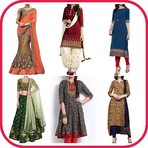 5b48fb63f03a4 Women Ethnic Wear - Google Play'de Uygulamalar