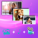 Photo Slideshow Maker 2020 with music Editor icon