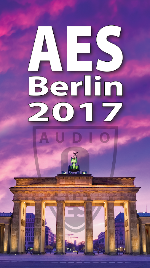 AES Berlin - 142nd Convention- screenshot