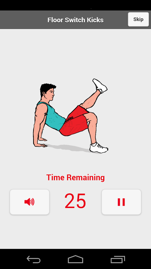 Short Random Workout Free HIIT- screenshot