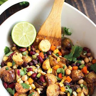 Tex-Mex Three Bean Potato Salad