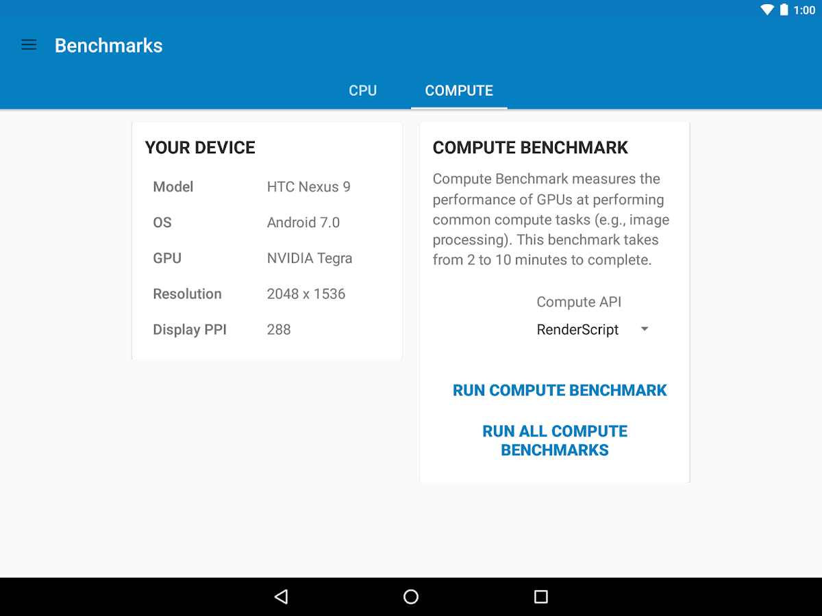 Geekbench 4 Pro- screenshot