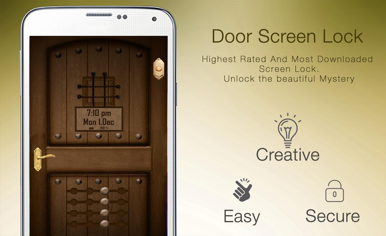 How To Unlock A Locked Door Door Lock Screen Android Apps On Google Play