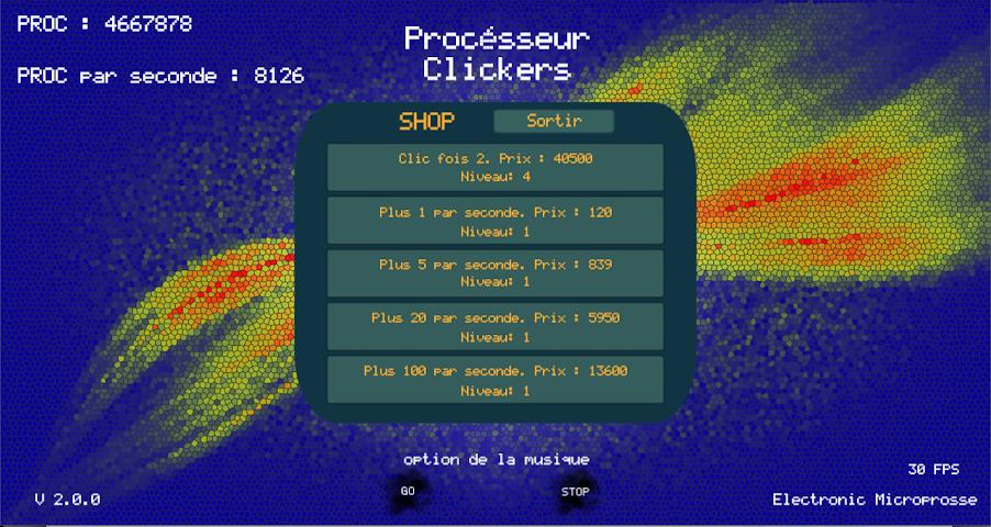 android Procésseur Clickers Screenshot 1