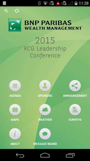 KCG Leadership conference 2015