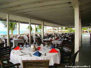 Photo: #016-Le restaurant Christopher's au Club Med de Columbus Isle