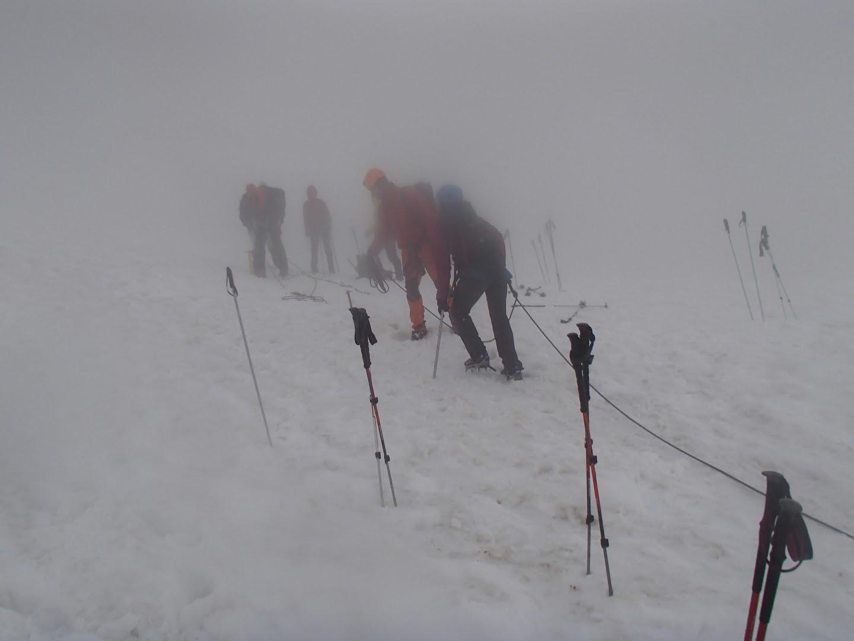 Beklimming Aiguille du Tour
