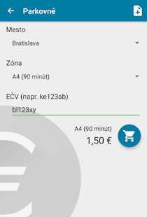 SMS platby - MHD, parkovne - náhled