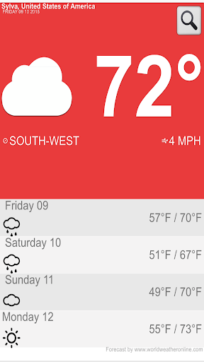 My Weather Forecast by SVRWXWN