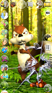Talking James Squirrel- screenshot thumbnail