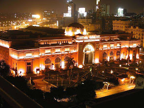 Photo: Egyptian Museum at Night from Port Said Port with All Tours Egypt