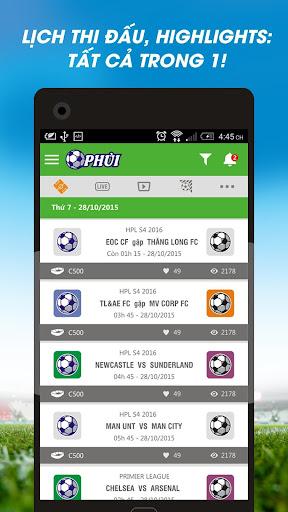 Bong da phui - HPL 2016