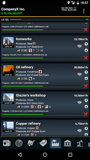 RESOURCES GAME - A GPS MMO Tycoon / Economy Game apktram screenshots 6