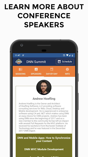 Screenshot for DNN Summit 2019 in United States Play Store