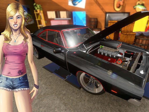 Screenshot for Fix My Car: Classic Muscle Car Restoration in United States Play Store
