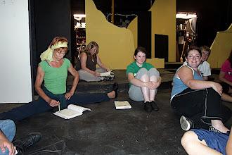 Photo: Chorus stretching