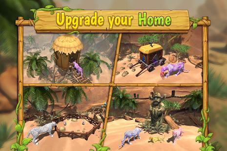 Cheetah Family Sim- screenshot thumbnail