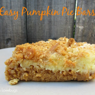 Easy Pumpkin Pie Bars 2