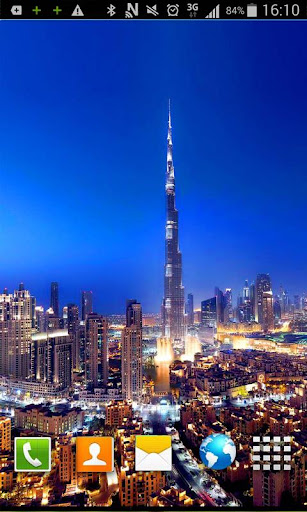 Dubai HD Live Wallpaper