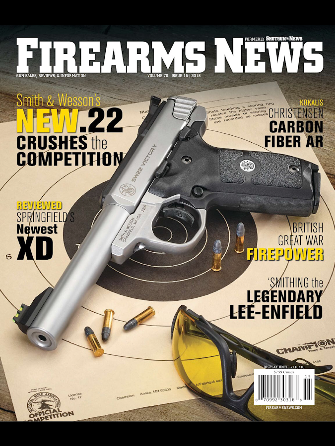 Firearms News- screenshot