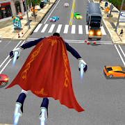 Game Flying Hero Iron Spider VS Mafia Fighter Adventure APK for Windows Phone