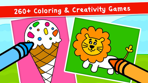 Coloring Games for Kids - Drawing & Color Book  screenshots 2