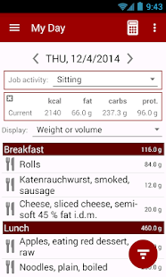 Calorie counter - Calories!- screenshot thumbnail