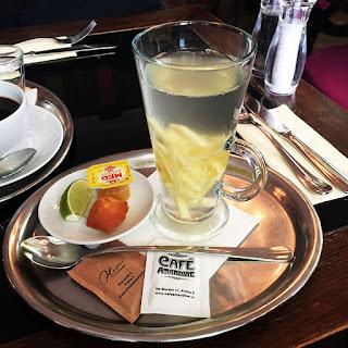 Ginger-Lemon Tea.