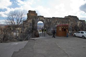 Photo: выход из парка у храма в Гарни