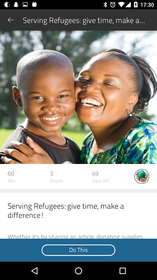 Serve Refugees- screenshot