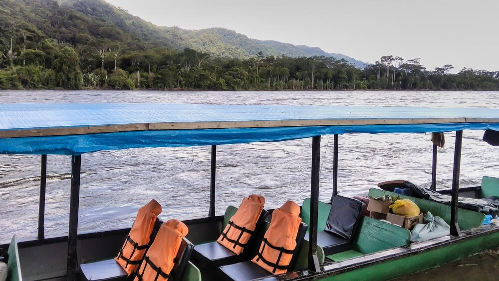 boat ride manu river Manu Peru Tours