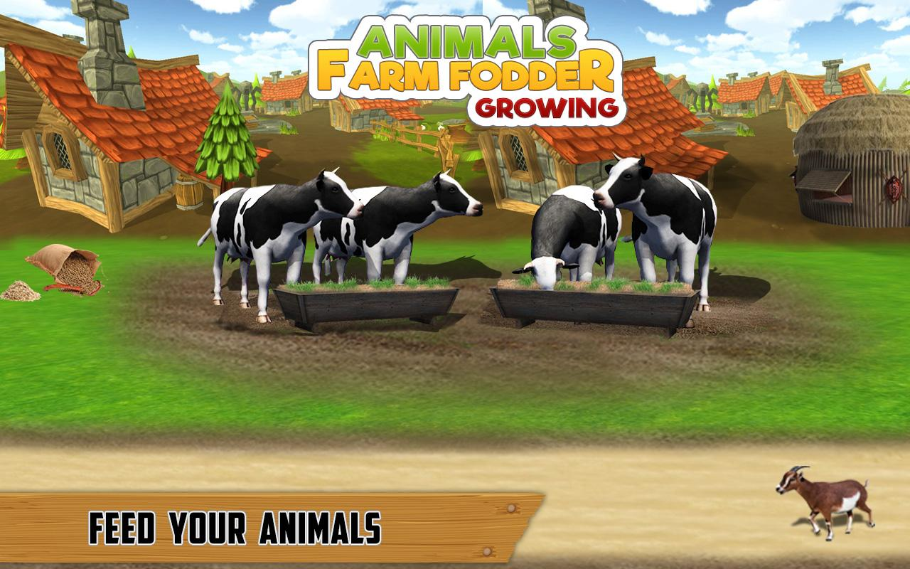 Animal Farm Fodder Growing & Harvesting Simulator- screenshot