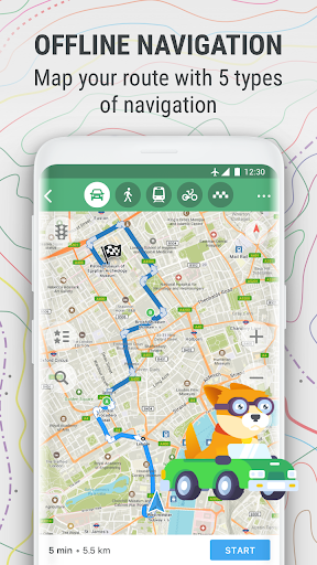 Maps Me Offline Map And Travel Navigation Free Download