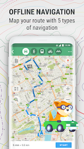 MAPS.ME – Offline Map and Travel Navigation 8.2.9-Google (x86)