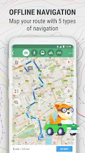 App MAPS.ME – Offline Map and Travel Navigation APK for Windows Phone
