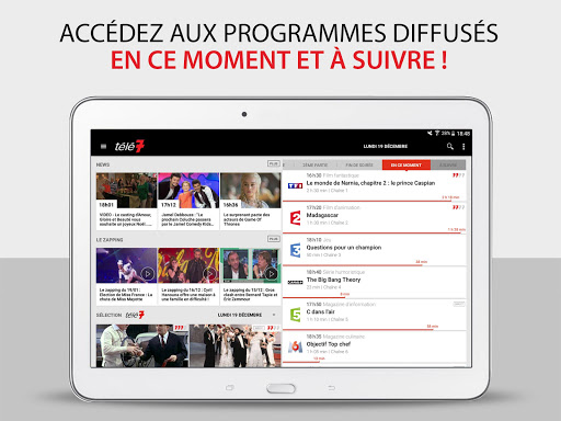 Télé 7 – Programme TV & Replay screenshot 12