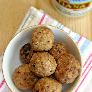 No Bake Peanut Butter and Coconut Balls.