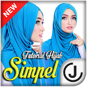 Tutorial Hijab 2017 Simple