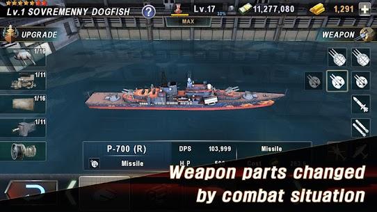 WARSHIP BATTLE: 3D World War II Mod Apk 3.4.0 (Unlimited Money) 8