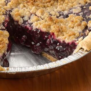 Blueberry Streusel Pie.