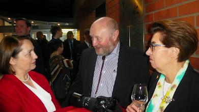 Photo: Prof. Estera Żeromska i prof. Alfred Majewicz z żoną