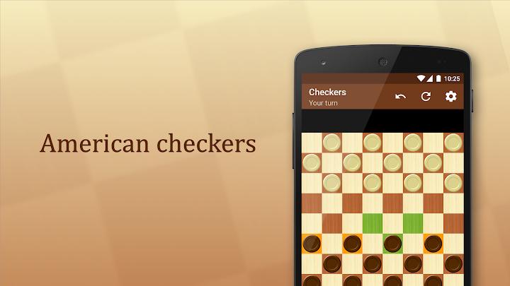 Checkers Android App Screenshot