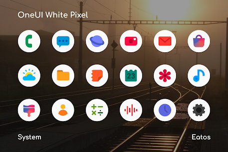 OneUI 2.0 White Apk – Pixel Icon Pack (Patched)
