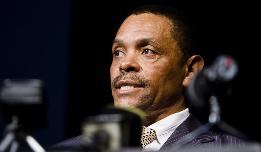 Former South African National Defence Force head Siphiwe Nyanda. File Photo.