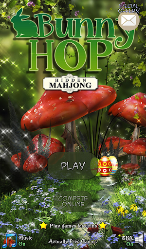Hidden Mahjong: Bunny Hop
