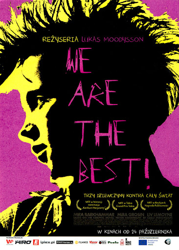 Przód ulotki filmu 'We Are The Best!'